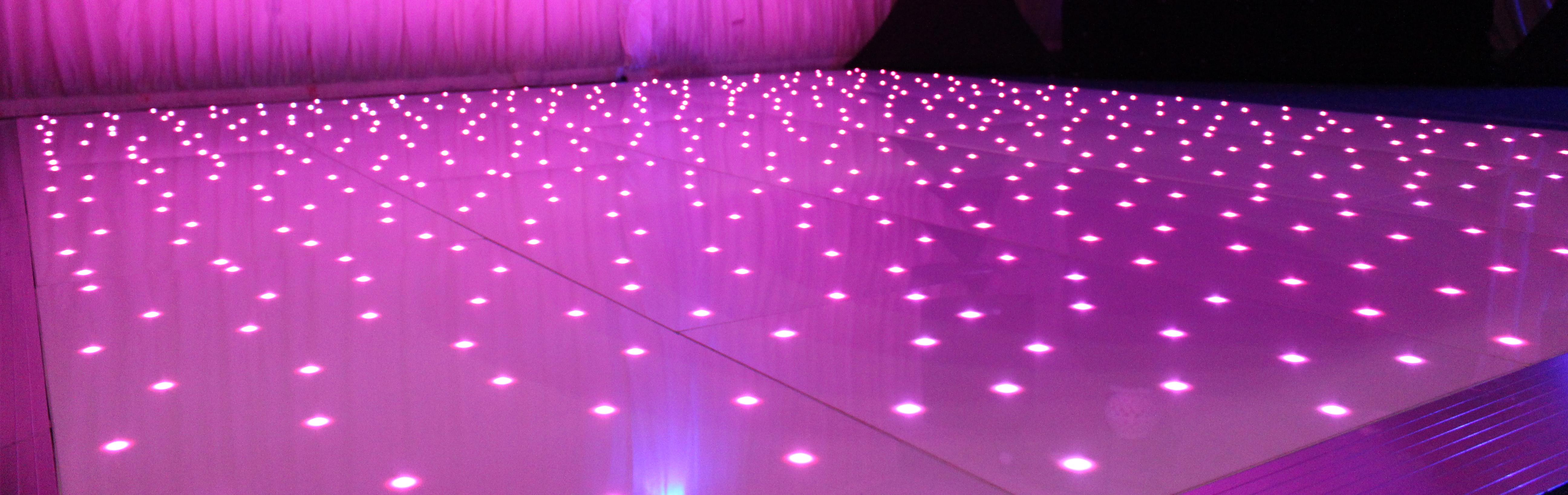 Starlit LED White Dancefloor
